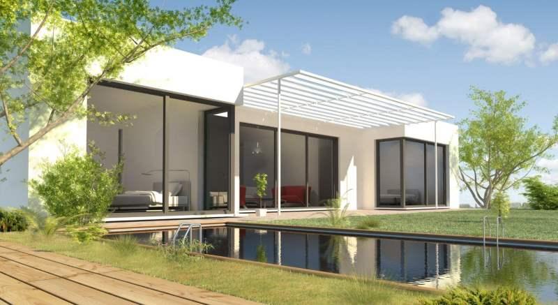 Maisons eugie constructeur de maisons individuelles for Modele maison avec piscine