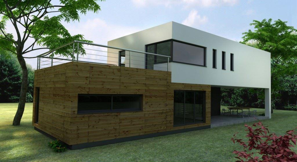 Modele Facade Maison Interesting Modle De Plainpied Avec Chambres
